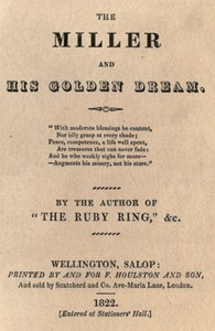 Cover of The Miller and His Golden Dream