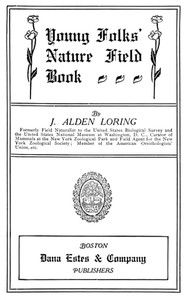 Cover of Young Folks' Nature Field Book