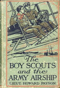 Cover of The Boy Scouts and the Army Airship