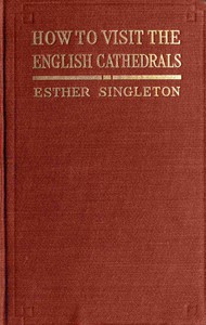 Cover of How to Visit the English Cathedrals