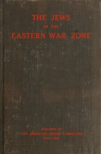 Cover of The Jews in the Eastern War Zone