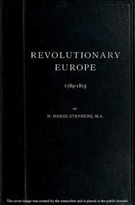 Cover of Revolutionary Europe, 1789-1815