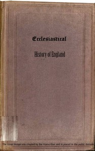 Cover of Ecclesiastical History of England, Volume 1—The Church of the Civil Wars