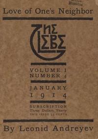 The Glebe 1914/01 (Vol. 1, No. 4): Love of One's Neighbor