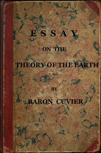 Cover of Essay on the Theory of the Earth