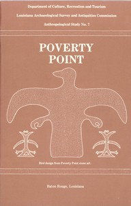 Cover of Poverty Point: A Culture of the Lower Mississippi Valley