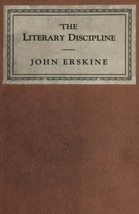 Cover of The Literary Discipline