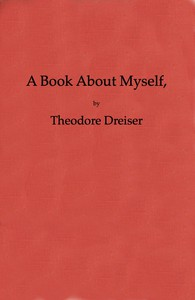 Cover of A Book About Myself