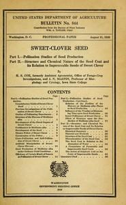 Sweet-Clover Seed