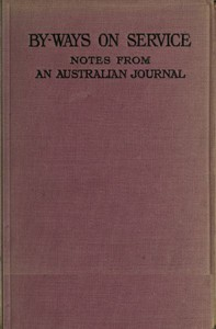 Cover of By-ways on Service: Notes from an Australian Journal