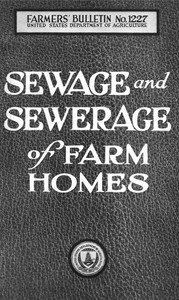 Sewage and sewerage of farm homes [1922]