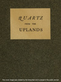 Cover of Quartz from the Uplands