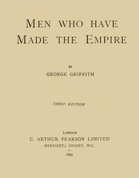 Cover of Men Who Have Made the Empire