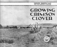 Cover of Growing Crimson Clover