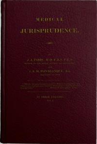 Cover of Medical Jurisprudence, Volume 1 (of 3)