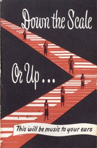 Cover of Down the Scale or Up...