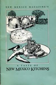 Cover of New Mexico Magazine's A Taste of New Mexico Kitchens