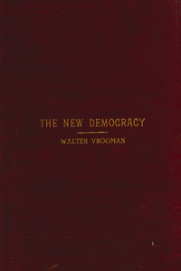 The New Democracy: A handbook for Democratic speakers and workers