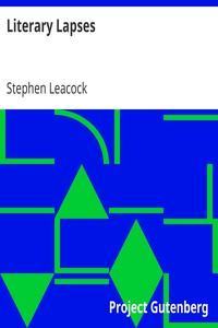 Cover of Literary Lapses