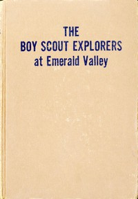 Boy Scout Explorers at Emerald Valley