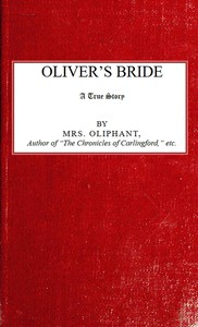 Cover of Oliver's Bride; A true Story
