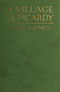 Cover of A Village in Picardy
