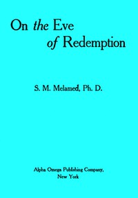 Cover of On the Eve of Redemption