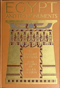 Cover of Egypt and Its Monuments