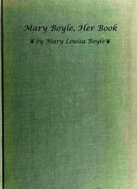Mary Boyle, Her Book