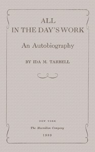 Cover of All in the Day's Work: An Autobiography