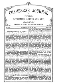 Chambers's Journal of Popular Literature, Science, and Art, No. 751, May 18, 1878