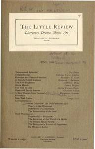 The Little Review, June 1914 (Vol. 1, No. 4)