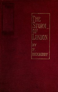 Cover of The storm of London: a social rhapsody