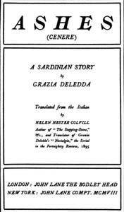 Ashes (Cenere): A Sardinian Story