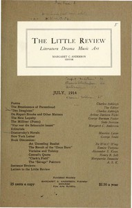 The Little Review, July 1914 (Vol. 1, No. 5)