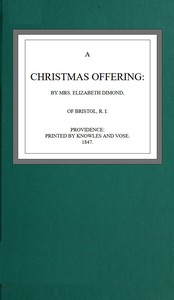 Cover of Christmas offering
