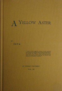 Cover of A Yellow Aster, Volume 3 (of 3)