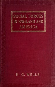 Social Forces in England and America