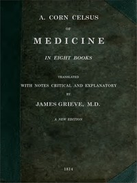 Cover of Of Medicine, in Eight Books