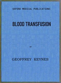 Cover of Blood Transfusion