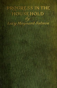 Cover of Progress in the household