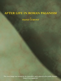 Cover of After Life in Roman Paganism