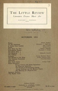 The Little Review, October 1914 (Vol. 1, No. 7)