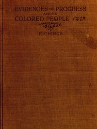 Cover of Evidences of Progress Among Colored People