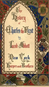 Cover of History of King Charles the First of England