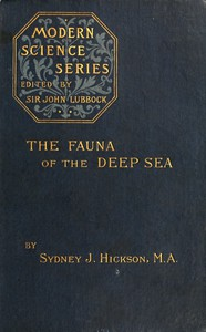 Cover of The fauna of the deep sea