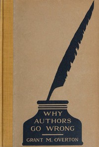 Cover of Why Authors Go Wrong, and Other Explanations