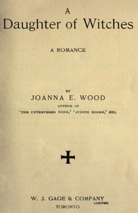 Cover of A Daughter of Witches: A Romance