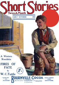 Cover of Short Stories. Early October, 1923