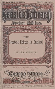Cover of The Greatest Heiress in England